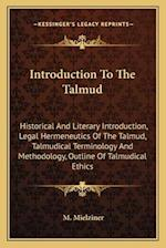 Introduction to the Talmud af M. Mielziner