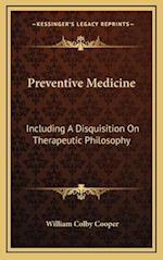 Preventive Medicine af William Colby Cooper