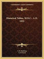 Historical Tables, 58 B.C.- A.D. 1955 af S. H. Steinberg