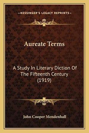 Aureate Terms af John Cooper Mendenhall