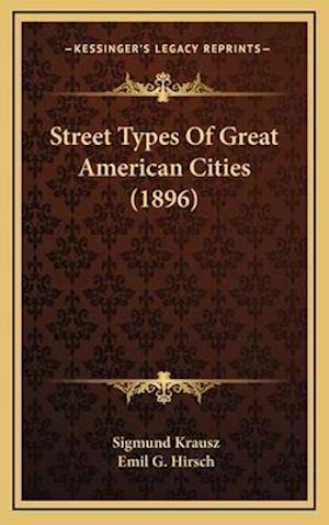 Street Types of Great American Cities (1896) af Sigmund Krausz