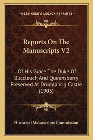 Reports on the Manuscripts V2 af Historical Manuscripts Commission