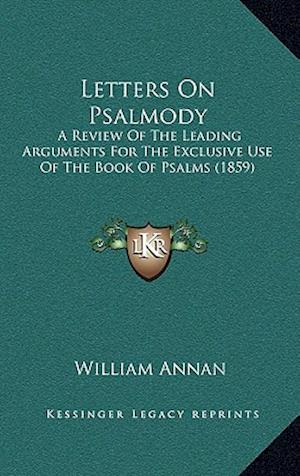 Letters on Psalmody af William Annan