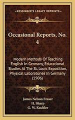 Occasional Reports, No. 4 af G. W. Kuchler, H. Sharp, James Nelson Fraser