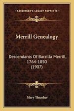 Merrill Genealogy af Mary Thrasher