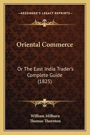 Oriental Commerce af William Milburn