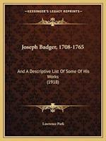 Joseph Badger, 1708-1765 af Lawrence Park