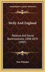 Sicily and England af Tina Whitaker
