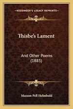 Thisbe's Lament af Masson Pell Helmbold
