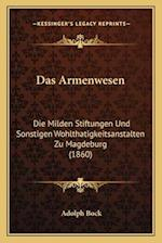 Das Armenwesen af Adolph Bock