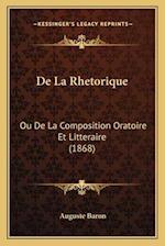 de La Rhetorique af Auguste Baron