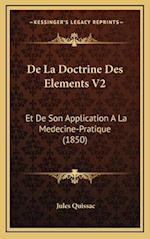de La Doctrine Des Elements V2 af Jules Quissac