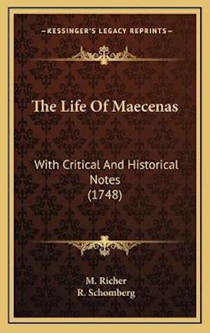 The Life of Maecenas af M. Richer