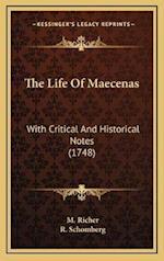 The Life of Maecenas af M. Richer