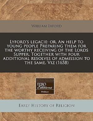 Lyford's Legacie af William Lyford