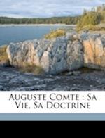 Auguste Comte af Michel Salomon