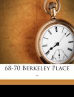 68-70 Berkeley Place .. af Whitney Darrow