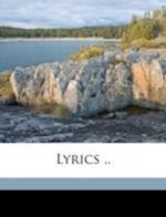 Lyrics .. af Edwin Thomas Reed