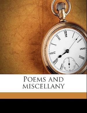 Poems and Miscellany af George Alfred Faylor