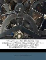 What Shall We Do with Our Criminals? with an Account of the Prison of Valencia, and the Penitentiary of Mettray af George Alexander Hoskins