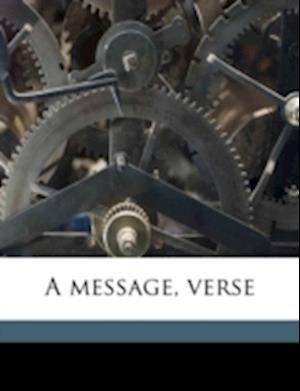 A Message, Verse af Marie Malmquist