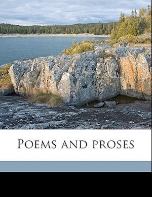 Poems and Proses af Pauline Gregory