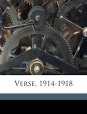 Verse, 1914-1918 af Gregory Scott Robbins