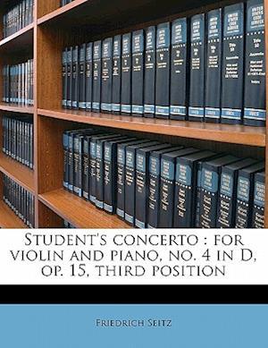 Student's Concerto af Friedrich Seitz