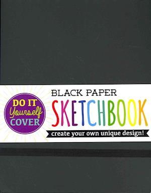 Bog, paperback Do It Yourself Black Paper Cover Sketchbook af International Arrivals LLC