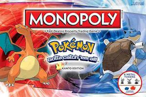 Monopoly : Pokemon - Kanto Region Edition af Usaopoly