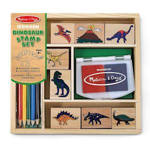 Dinosaur Stamp Set af Doug