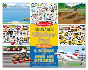 Reusable Sticker Pad Vehicles af Doug