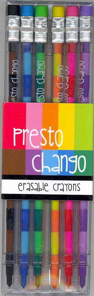 Presto Chango Crayons - Set of 6 af International Arrivals LLC