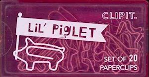 Lil Clips - Set of 20 - Piglet af International Arrivals LLC