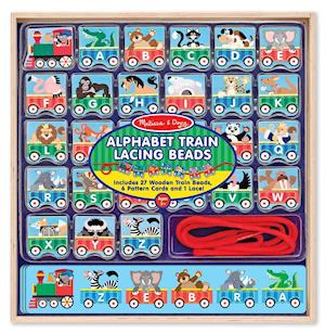Bog, ukendt format ABC Lacing Train af Doug Llc, Melissa