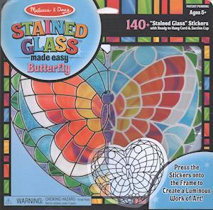 Bog, ukendt format Stained Glass - Butterfly af Doug, Melissa