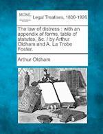 The Law of Distress af Arthur Oldham