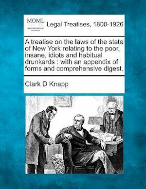 A   Treatise on the Laws of the State of New York Relating to the Poor, Insane, Idiots and Habitual Drunkards af Clark D. Knapp