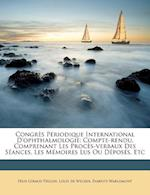 Congres Periodique International D'Ophthalmologie af F. LIX Giraud-Teulon, Variste Warlomont, Felix Giraud-Teulon