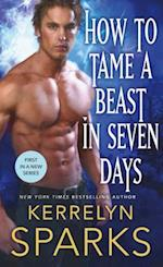 How to Tame a Beast in Seven Days (Embraced, nr. 1)