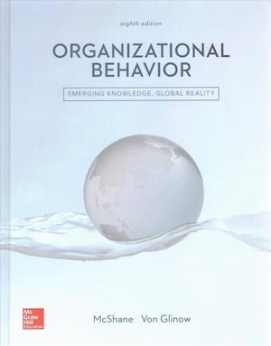 Bog, hardback Organizational Behavior af Steven Mcshane