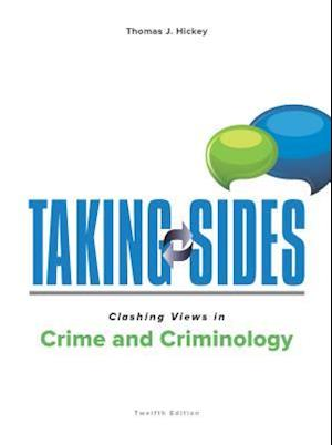 Bog, paperback Clashing Views in Crime and Criminology af Thomas Hickey