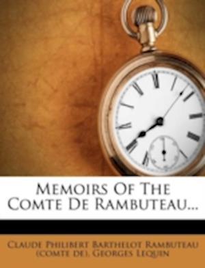 Memoirs of the Comte de Rambuteau... af Georges Lequin