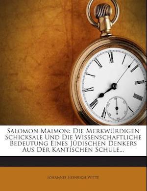 Salomon Maimon af Johannes Heinrich Witte