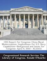 Crs Report for Congress af Ronald O'Rourke