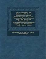 Zur Wiedergeburt Der Kulturmenschheit; Zwei Preisgekronte Arbeiten. Heinrich Solger af Max Seiling, M. G. 1846-1927 Conrad, Heinrich Solger