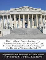 The Lovibond Color System af K. S. Gibson, F. K. Harris