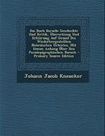 Das Buch Baruch af Johann Jacob Kneucker