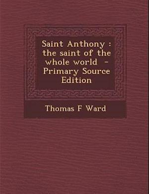 Saint Anthony af Thomas F. Ward