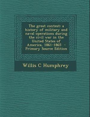 The Great Contest af Willis C. Humphrey